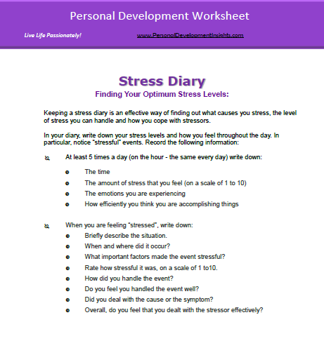 Worksheets Stress Management Worksheets stress management worksheet best ideas about worksheets pdf and