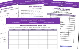 Free Personal Development Worksheets
